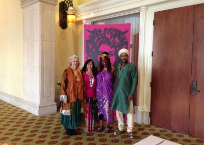 Hilton, Huntington Beach Company event with multiple readers, dazzling the guests