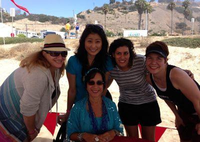 Santa Monica Beach day company picnic