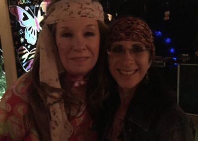 Hippy themed birthday party