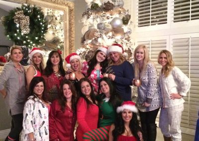 Christmas slumber/bachelorette party   Rooftop girls night celebration in San Diego