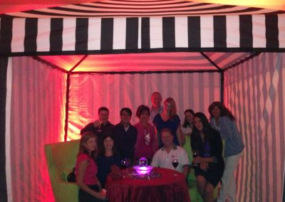 Marriott San Diego Company party with crystal ball readings