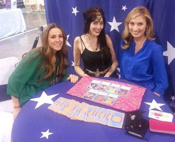 Tarot card readings at Las Vegas Trade Show