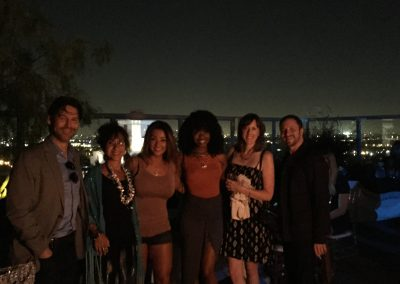 Rooftop company party in Los Angeles