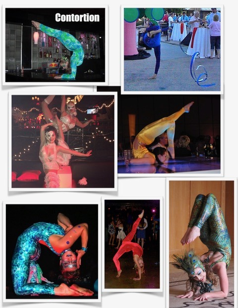 contortionists for parties